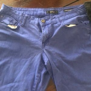 2 pairs of Skinny Jean Black and Blue